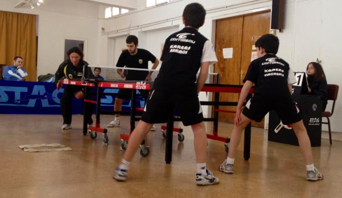 Ping Pong: Νίκη έπειτα από  δυνατές αναμετρήσεις A.O.KAΡΕΑ-ΑΕΚ 4-2