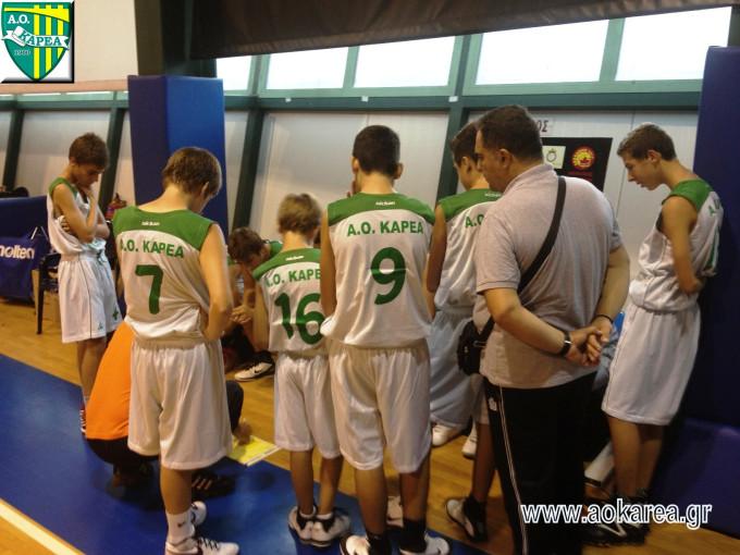 Basketball Παιδικό:Ένα άσχημο παιχνίδι για την ομάδα μας
