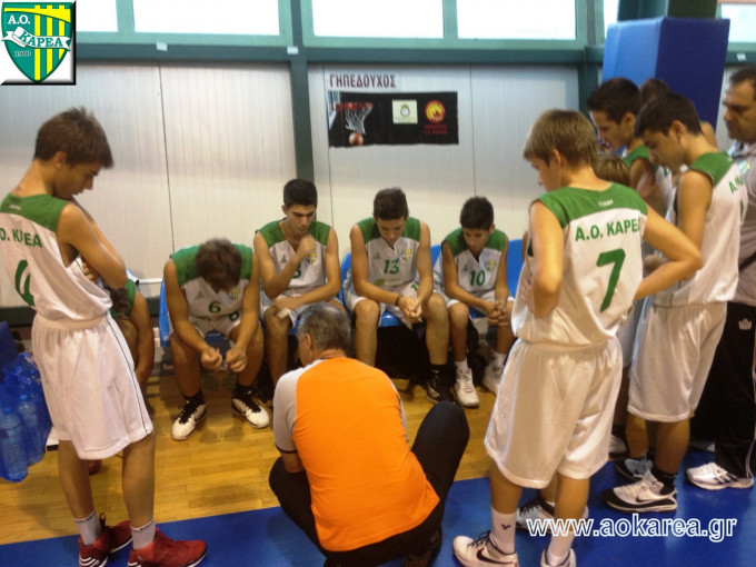Basketball Παίδων: Επιστροφή στις νίκες με σπουδαία εμφάνιση!!!