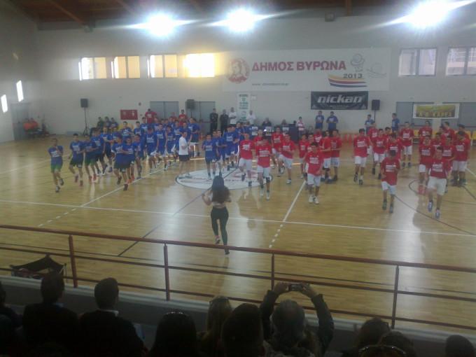 1ο Basketball Αll Star Game Παίδων Εφήβων Βύρωνα, δυνατές αθλητικές στιγμές του Βύρωνα στα καλύτερα του !