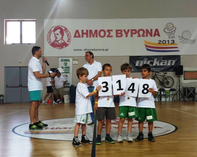 """Αθλητικός Όμιλος Καρέα 2013-14:""""3148 ώρες,…Επένδυση με Το Παιδί στο επίκεντρο του ενδιαφέροντος !"""""""