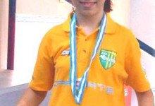 Η Χριστίνα Σεβνταγιάν μας έφερε το Αργυρό Μετάλλιο του διπλού Πανκορασίδων από το  Πανελλήνιο Πρωτάθλημα 2010