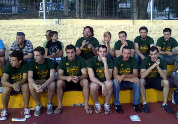 Ξεκίνημα για την ομάδα Basketball ανδρών
