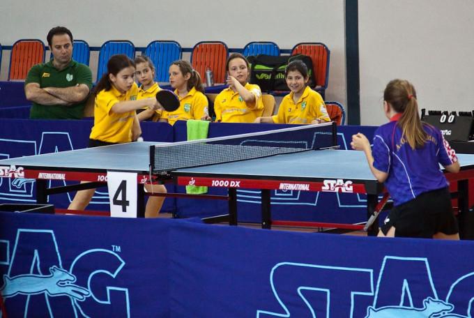 Ο Αθλητικός Όμιλος Καρέα συμμετέχει στο ΤΟΡ 8 του Ping Pong